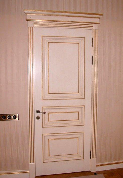 Белые двери из МДФ