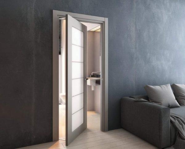 Межкомнатная вращающаяся дверь