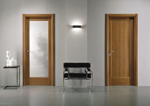 Двери из МДФ для ванной и туалета