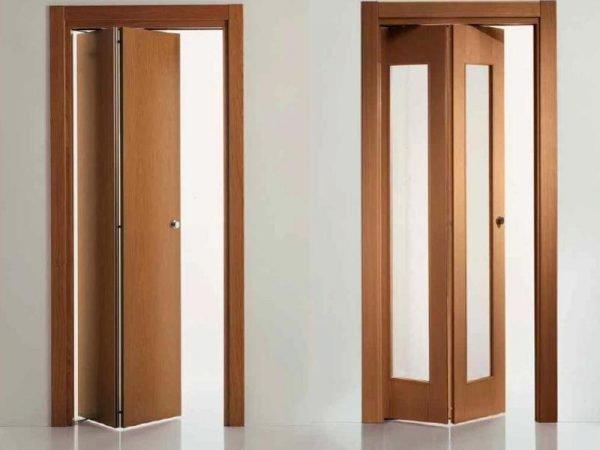 Вариант узкой двери-гармошки