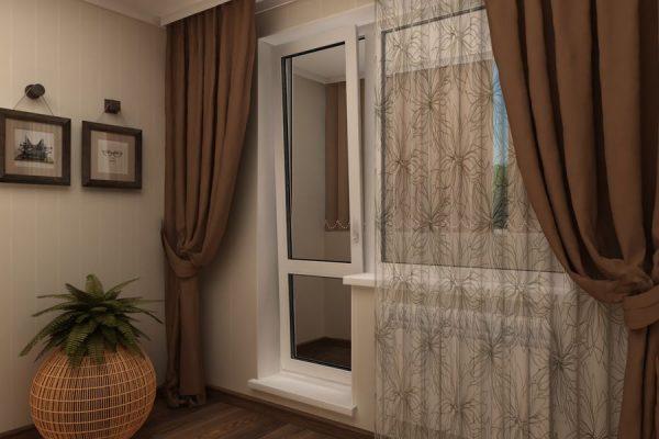 Дверь для балкона ПВХ