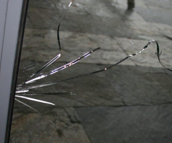 Трещины на стеклопакете