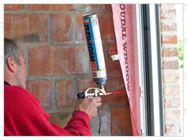 Герметизация дверного блока