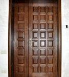 Филёнки на входной двери