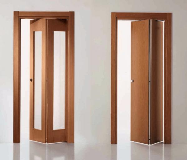 Вариант складных дверей