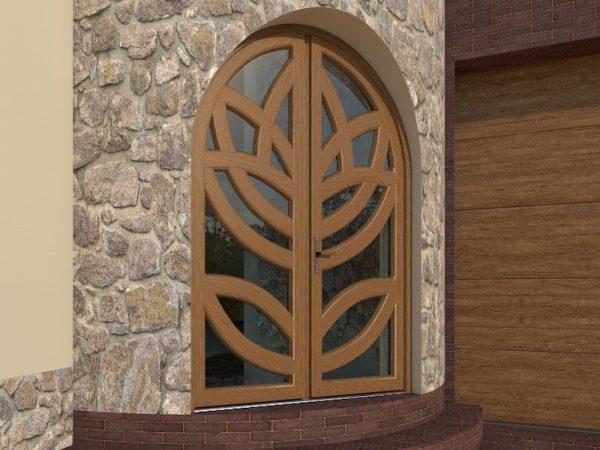 Арочная дверь