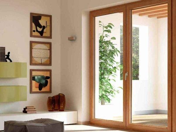Панорамная балконная дверь