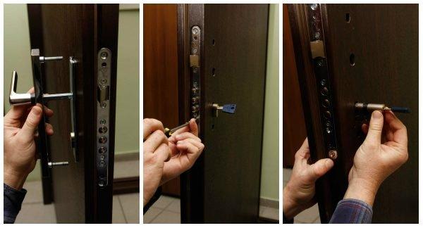 Замена замка сейф-двери