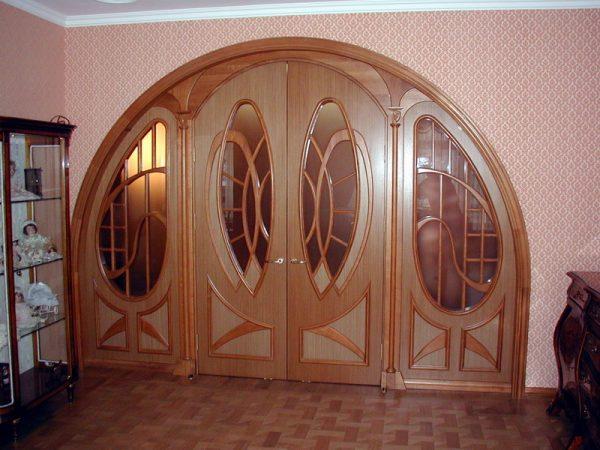 Вариант арочных дверей