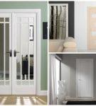 Сравнение двустворчатых и однопольных дверей