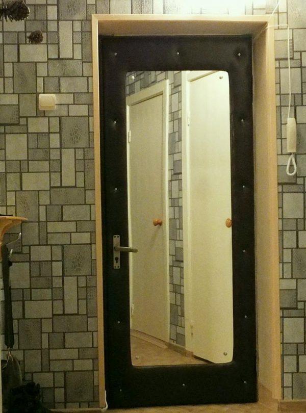 Самодельные зеркальные двери