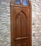 Арочный проём дверей