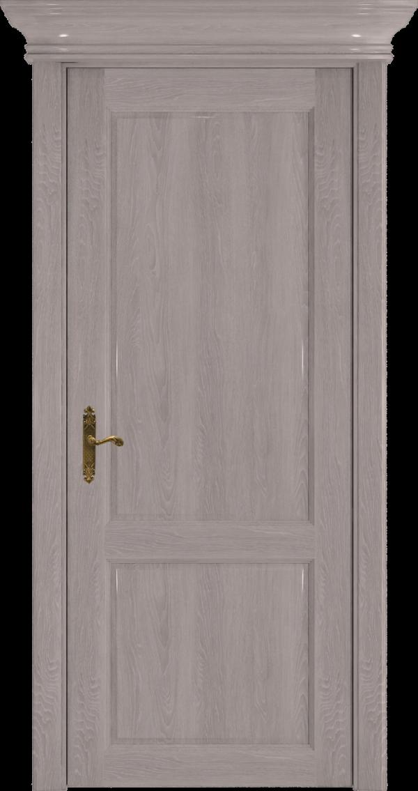 Дверь из серого дуба