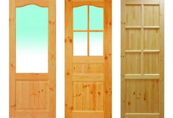 Дверные полотна без короба