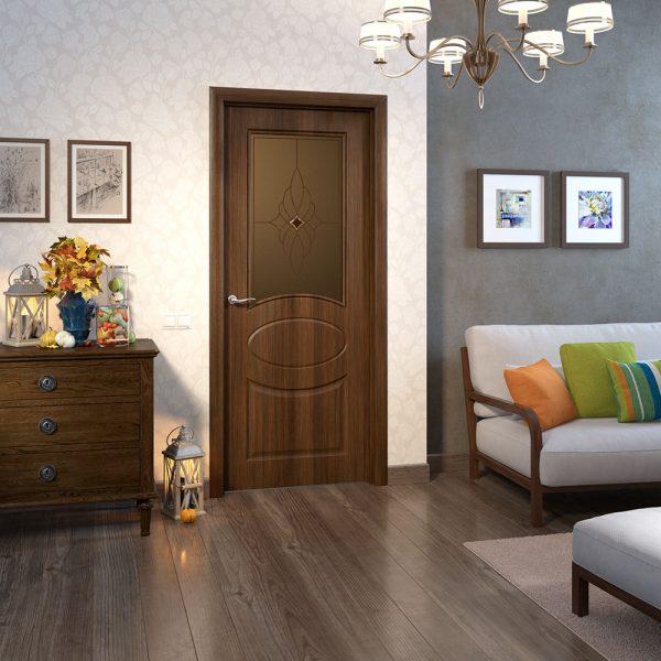 Межкомнатная дверь МДФ