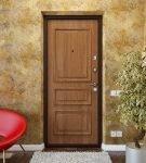 Входная дверь с накладками из МДФ