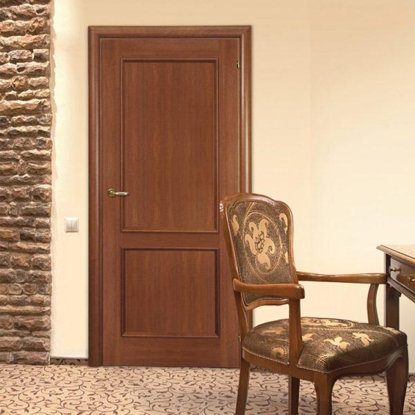 Вариант межкомнатной двери правого типа