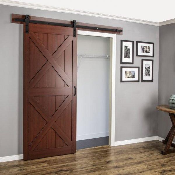Амбарная одностворчатая дверь