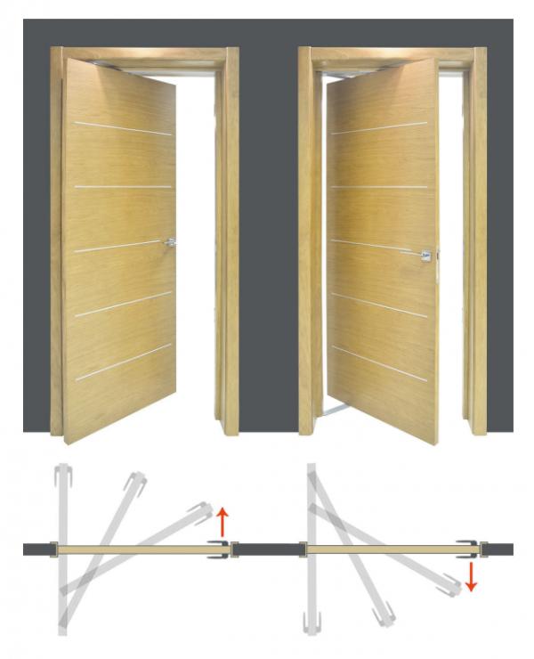 Механизм открывания рото-двери