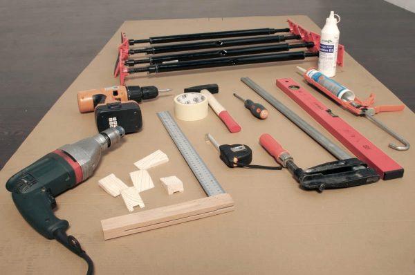Набор инструментов для создания дверей