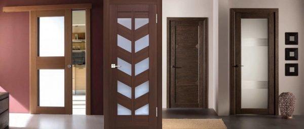Виды оформления дверей