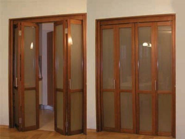 Дверь «гармошка»