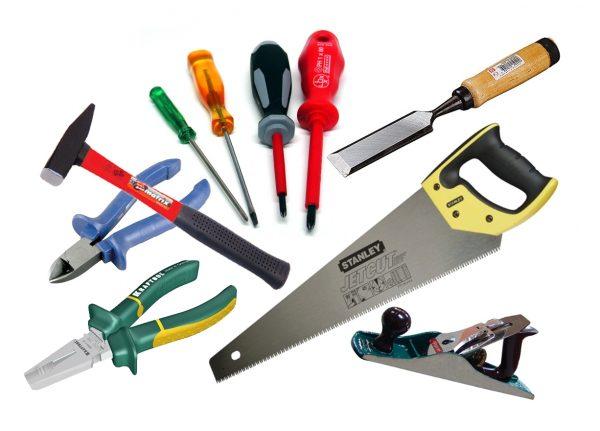 Инструменты для выполнения столярных работ