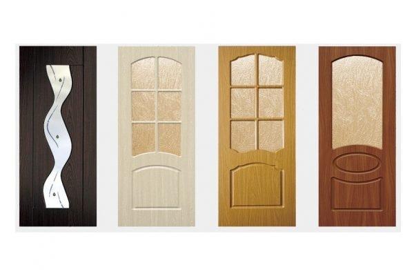Варианты межкомнатных дверей со стеклом