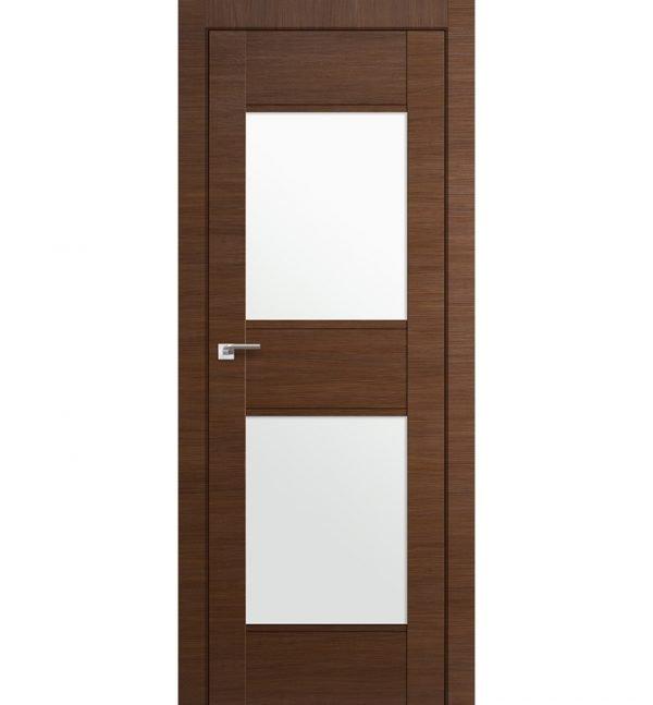 Вариант двери с двумя стёклами