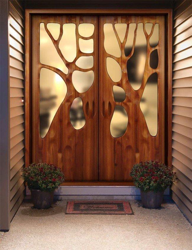 как следует идеи по окрашиванию входных деревянных дверей фото ваше