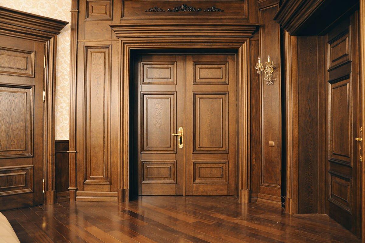 Установка деревянных дверей своими руками: нюансы монтажа