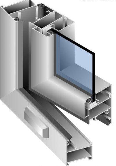 Схема устройства холодного профиля из алюминия