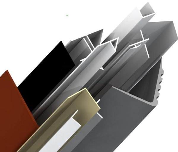 L-образный пластиковый уголок