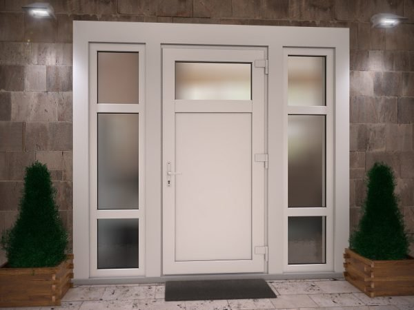 Входные металлопластиковые двери