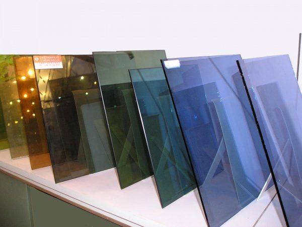 Цветное калёное стекло