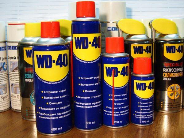 Средства WD-40