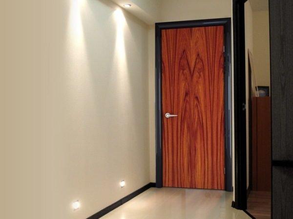 Дверь, облицованная панелью МДФ