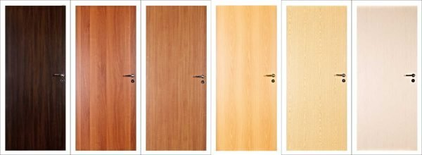 Простые щитовые двери