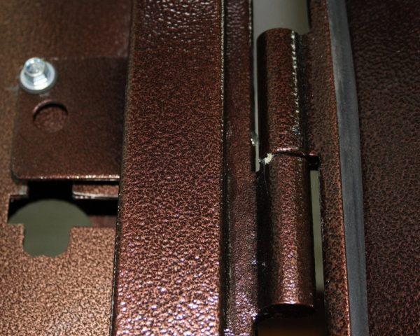 Конструкция петель входной двери