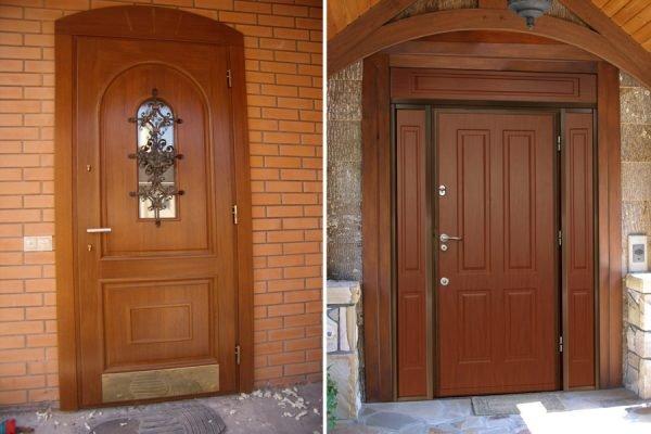 Двери комбинированных конструкций