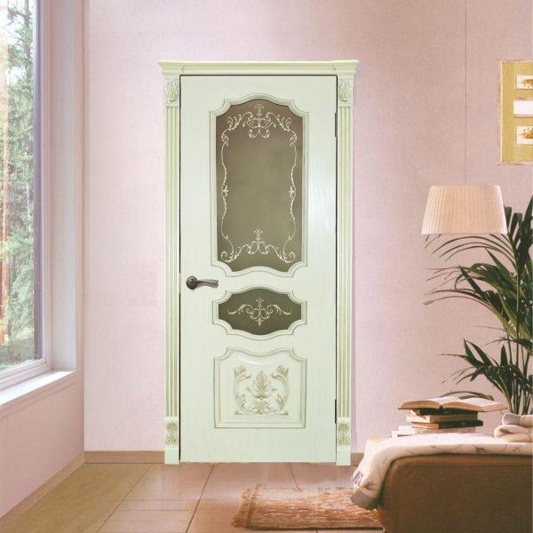 Белые двери для детской комнаты девочки