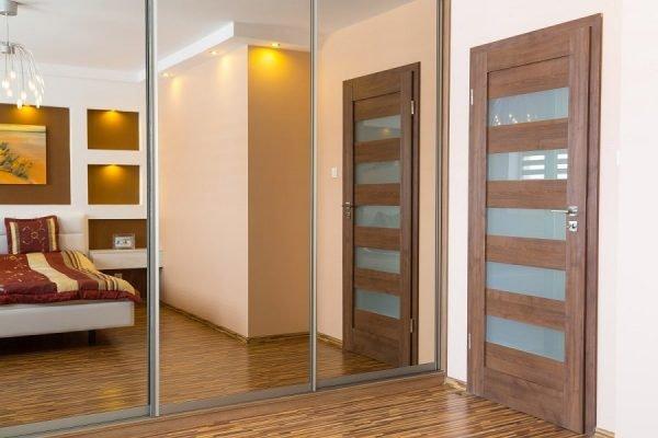 Вариант межкомнатной двери для спальни