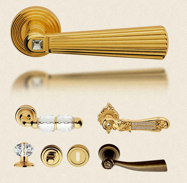 Варианты дверных ручек