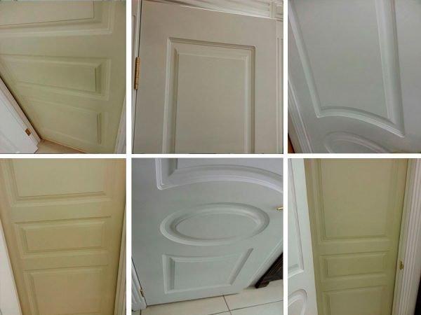 Варианты дверей с эмалью