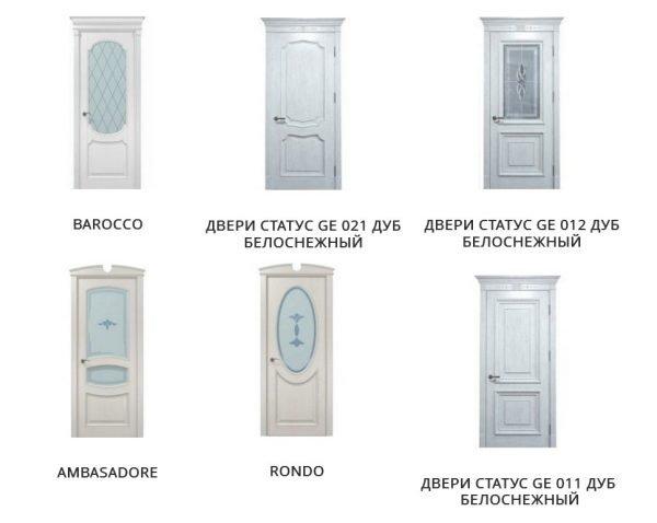 Межкомнатные двери в стиле классика