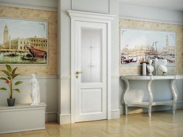 Лаконичные двери в классическом стиле