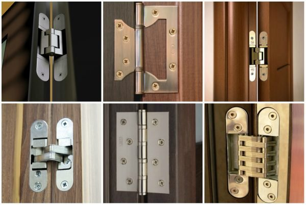 Примеры петель межкомнатной двери