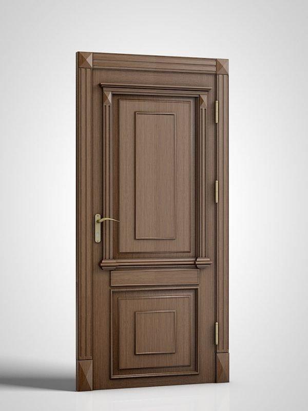 Деревянные офисные двери для кабинета