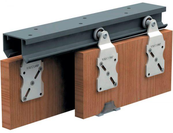 Ролики для двери с верхней направляющей