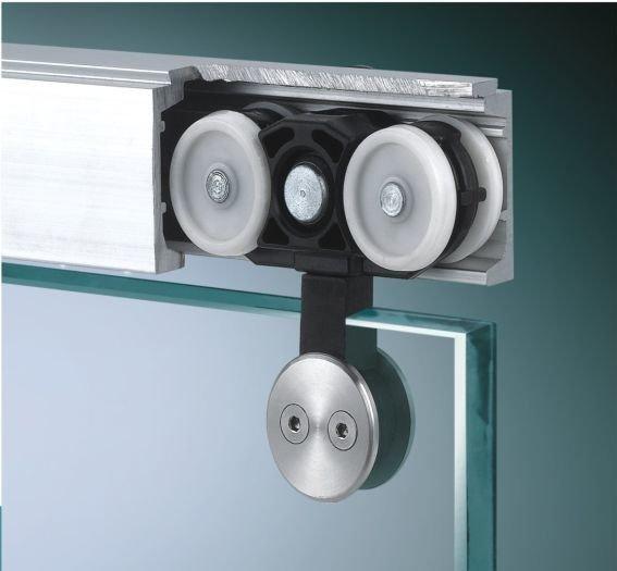 Ролики для стеклянной сдвижной двери